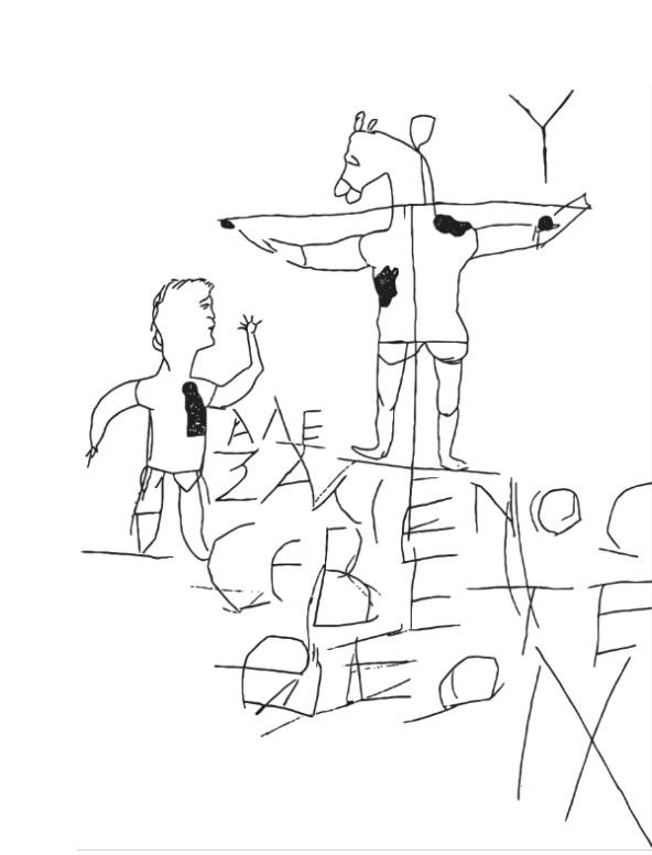 La première représentation retrouvée de La Croix