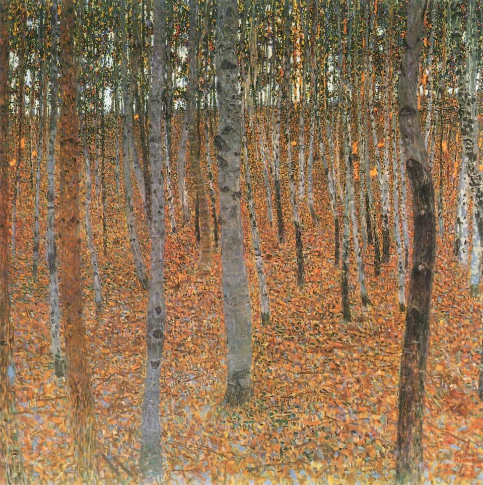 Gustav Klimt L'hêtraie
