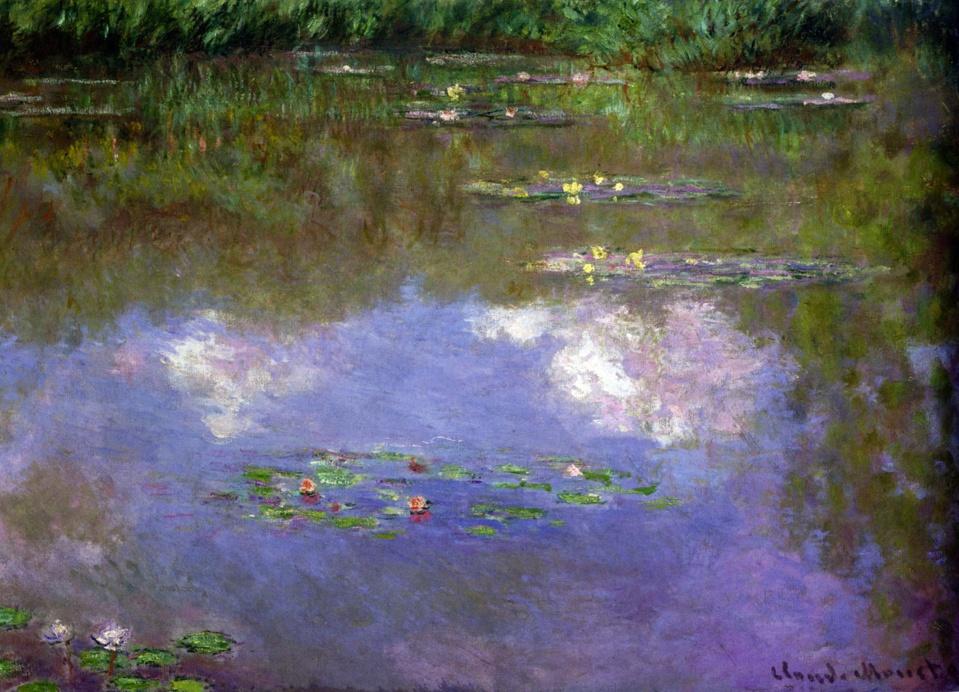Claude Monet Les Nymphéas _ les Nuages