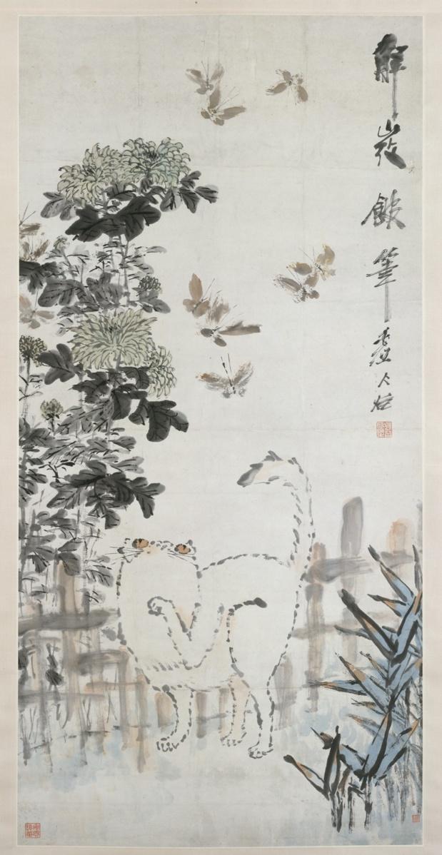 Xu Gu Chat et papillons