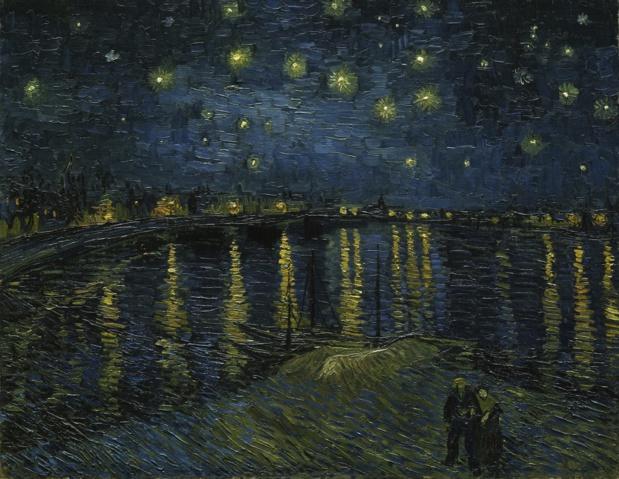 Vincent van Gogh Nuit étoilée sur le Rhône
