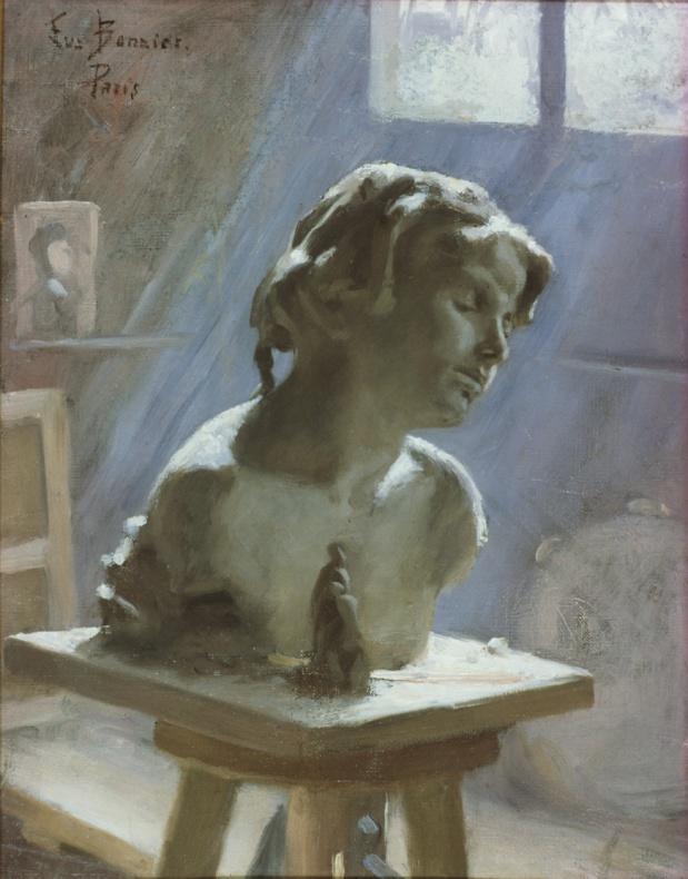 Eva Bonnier Intérieur d'un studio à Paris (Cliquer pour agrandir)