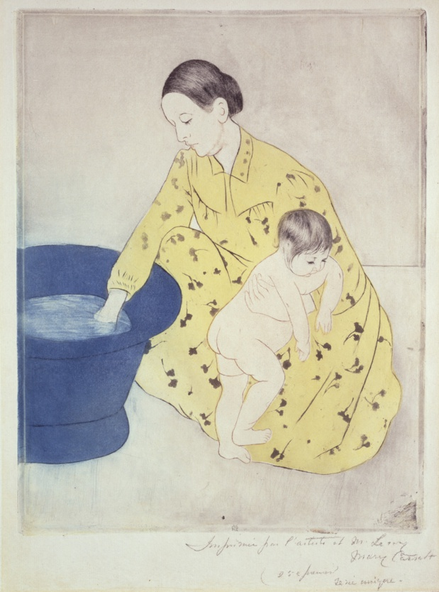 Mary Cassatt Le Bain