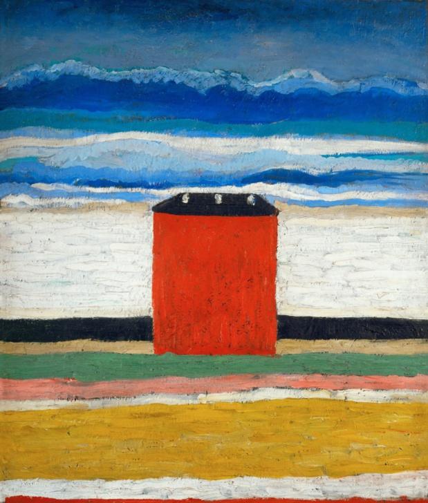 Kasimir Malevitch Maison Rouge