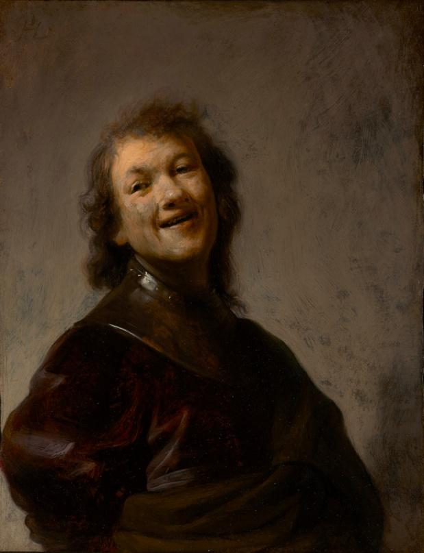 Rembrandt van Rijn Le Rembrandt rieur