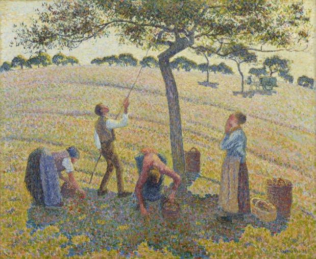 Camille Pissarro La cueillette des pommes à Eragny-sur-Epte