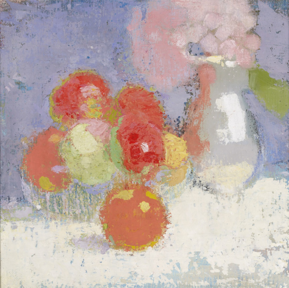 Helene Schjerfbeck Pommes rouges
