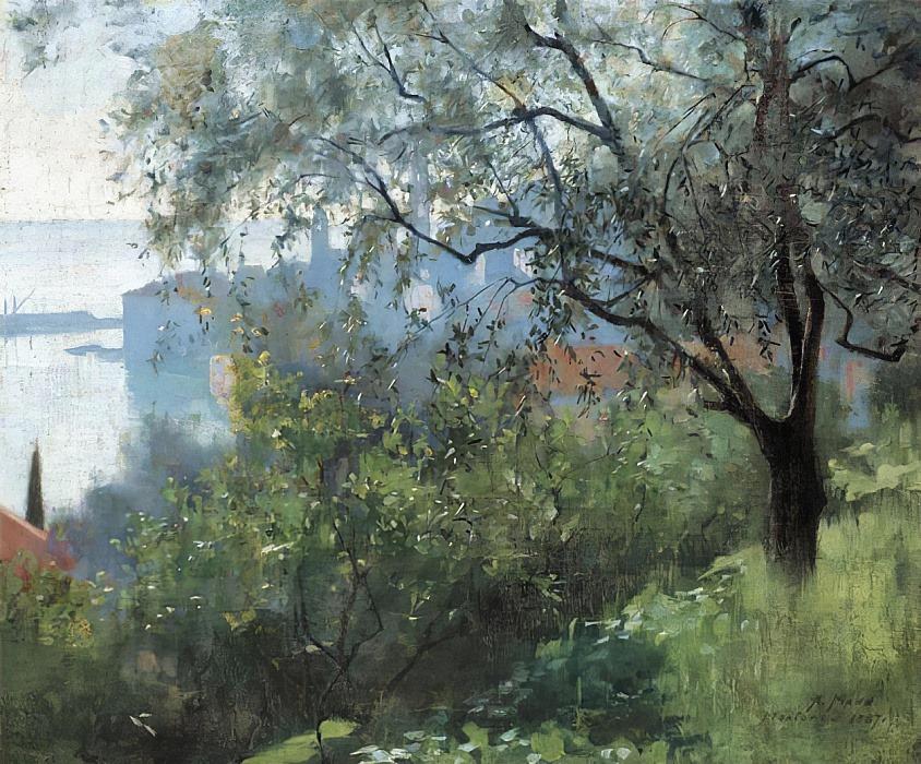 Jardin à Menton Alexander Mann