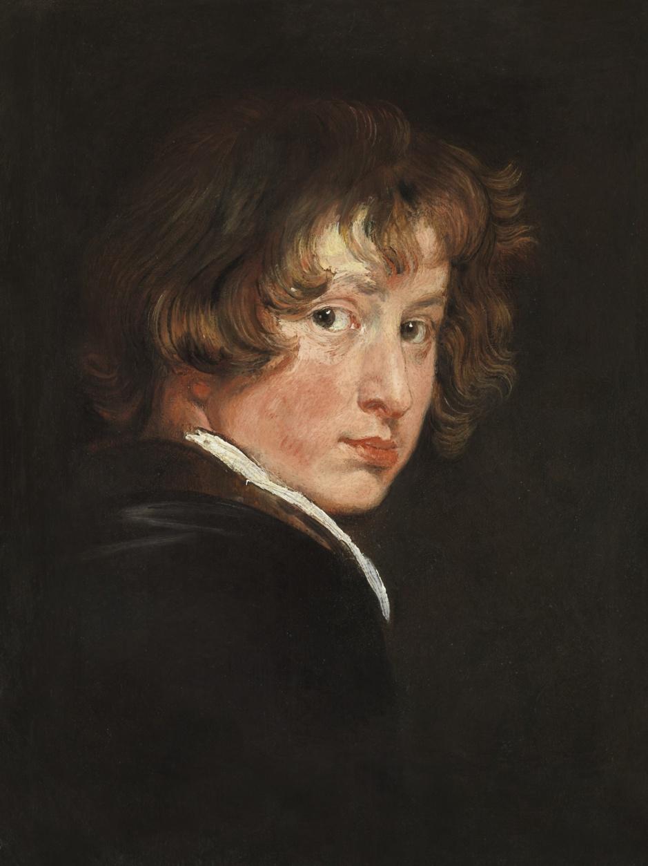 Antoine Van Dyck Autoportrait