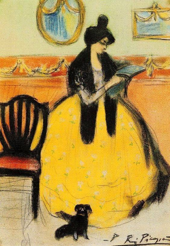 Pablo Picasso, peint quand il avait 19 ans.