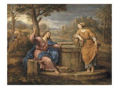 Jésus et la Samaritaine, Pierre Mignard