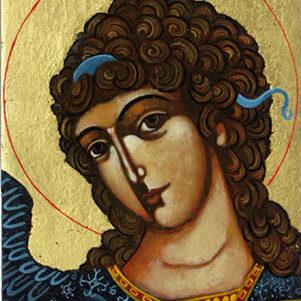 Icône ange Gabriel