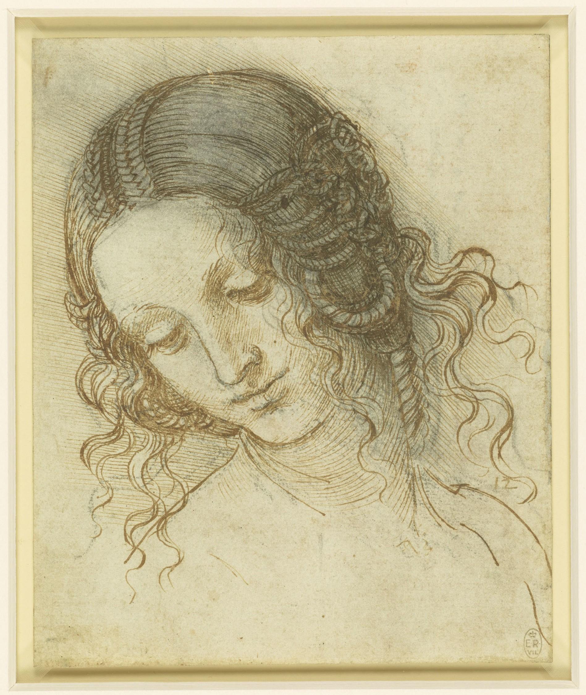 Leonardo da Vinci La Tête de Leda