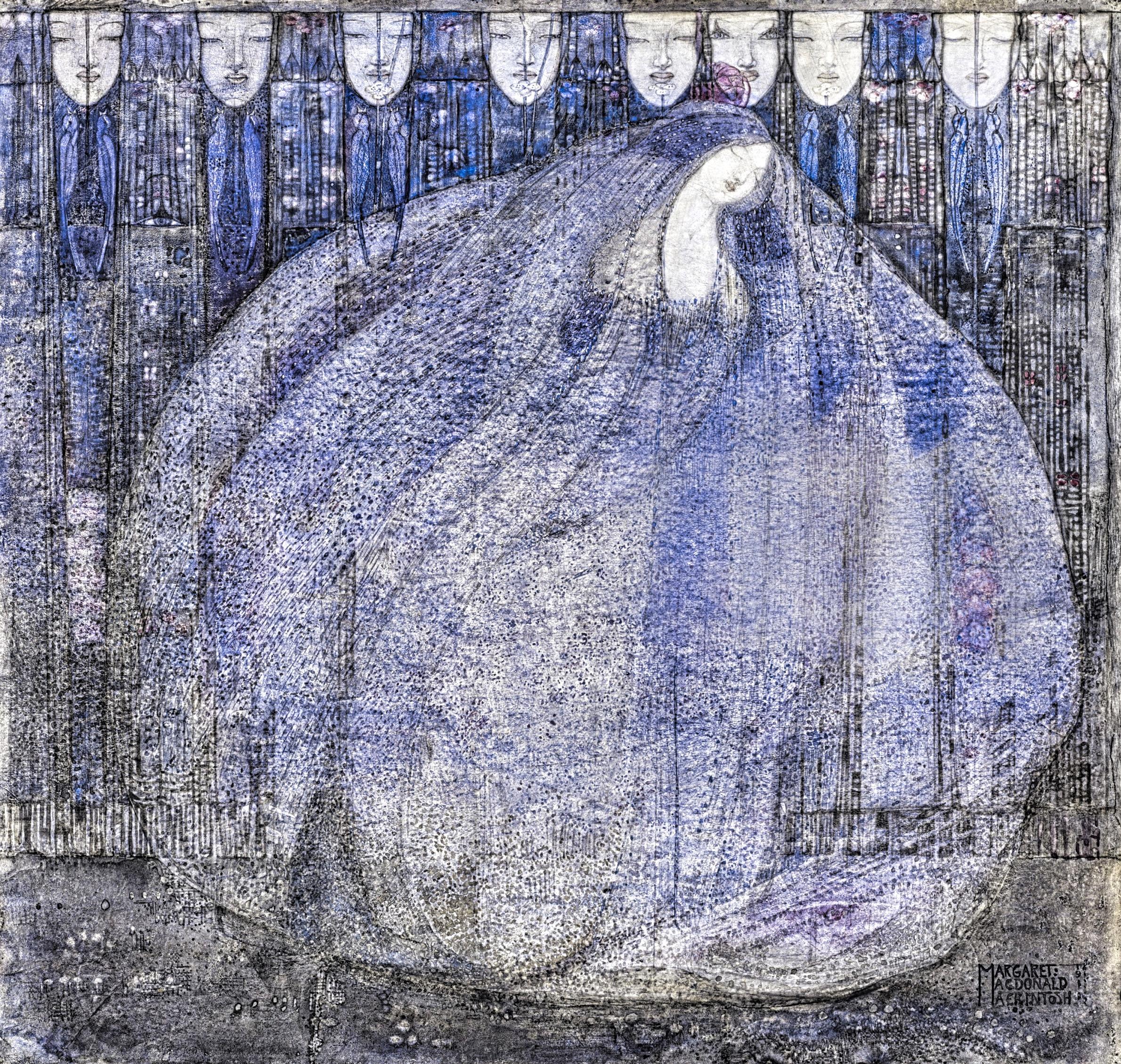 Margaret Macdonald Mackintosh Le Jardin mystérieux