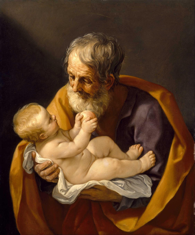 Guido Reni Saint Joseph avec l'enfant Jésus