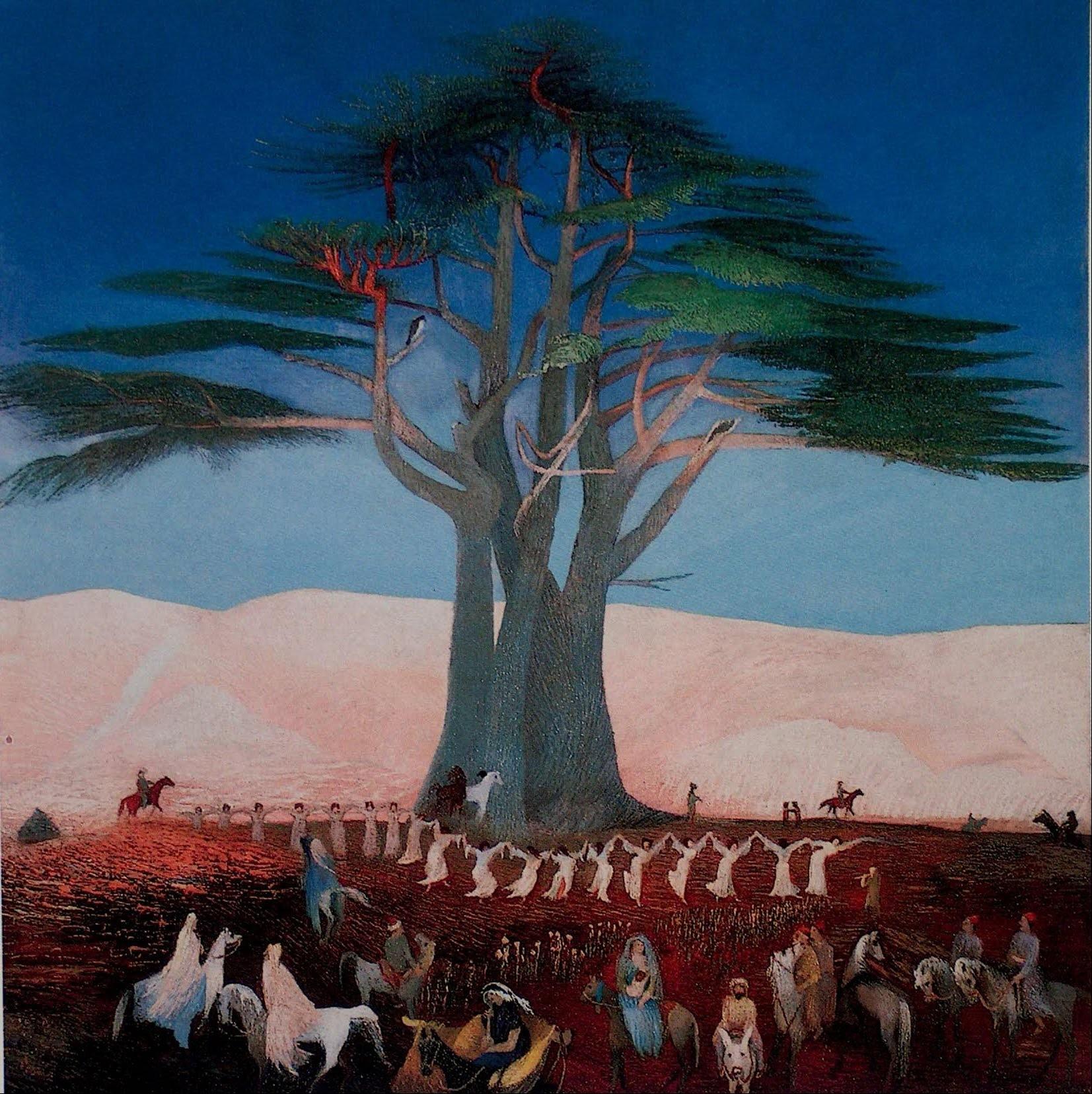 Tivadar Csontváry Kosztka Pèlerinage aux Cèdres du Liban
