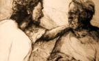 Le toucher au lépreux