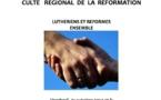 CULTE REGIONAL DE LA REFORMATION