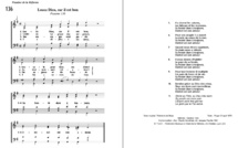 Les cantiques que nous n'avons pas pu chanter au Temple le 21 mars 2021 !